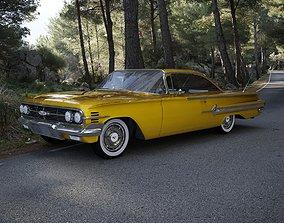Chevrolet Impala Sport Coupe 2-Doors Hardtop 1960 3D