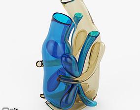 Gli Amanti Murano Blown Glass Art 3D model