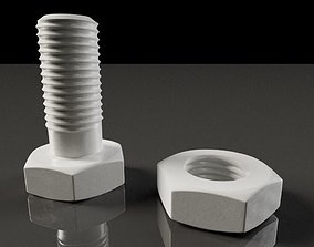Model 3D of Screw for 3D Printing