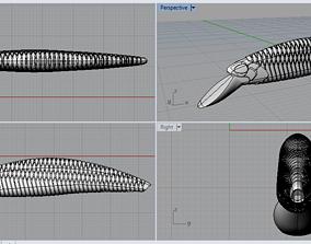 3D printable model fishing bait