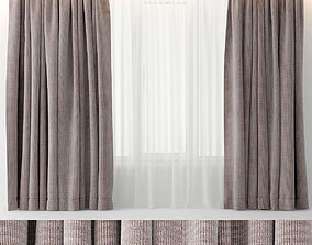 CURTAINS VELOUR 3D