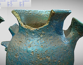 3D model Egypt Blue - reconstructed broken vase