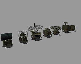MIM-23 HAWK 3D model game-ready