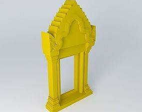 Doorway ornament 3D