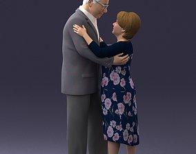 Elderly couple 0709 3D Print Ready