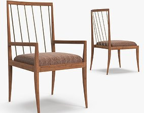 3D Brownstone - Madison dining armchair and side shair