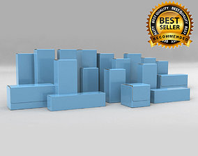 3D Package Box Collection