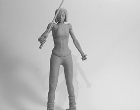 Alita battle angel statue version 3D print model
