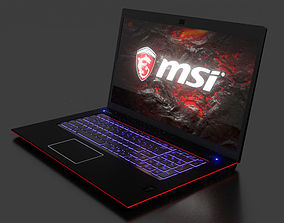 3D Gaming Laptop MSI