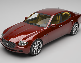 3D Maserati Quattroporte