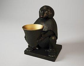3D Eichholtz Monkey With Light Art Deco