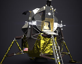 3D asset Apollo 11 Lunar Module - PBR Game Ready