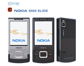 Nokia 6500 slide 3D model