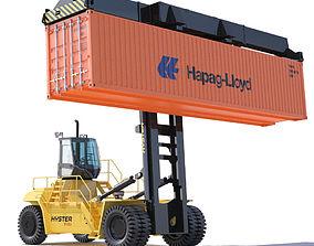 3D model Container handler
