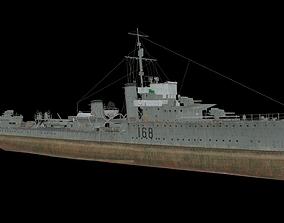 HMAS Vampire 3D