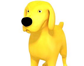 3D model Golden Retriever