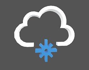 Weather Symbol v12 002 3D model