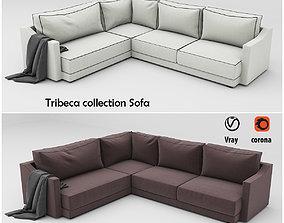 Tribeca collection Sofa 3D model