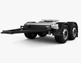 Scania Dolly Trailer 2017 3D