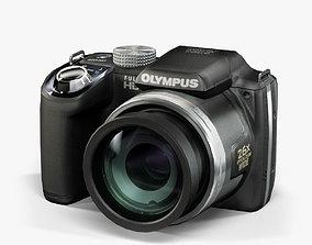 3D model animated Olympus SP-720UZ Black