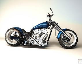 MotorBike Chopper 3D