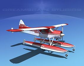 Dehavilland DHC-2 Beaver V12 3D model