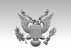 USA eagle logo 3D print model