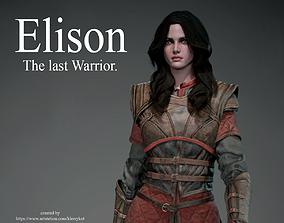 Elison The last Warrior 3D model