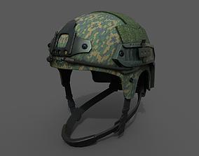 3D asset Helmet combat military Scifi