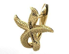3D print model earrings ER 38
