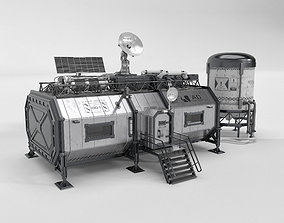Lunar habitat 3D