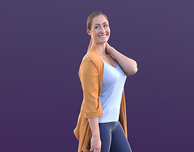 Rocio 10294 - Walking Shopping Girl 3D asset