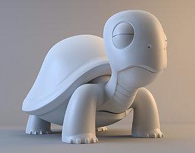 Cartoon Turtle 3D model model