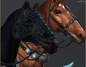 Horse for Heroes Light Version 3D asset