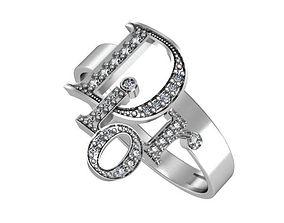 Ring Dior 3D printable model