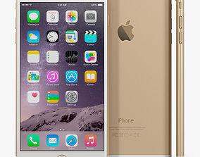 3D asset realtime Apple iPhone 6 Plus