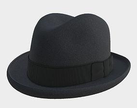 PBR Hat homburg 3D model