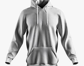 hoodie 02 w 3D model