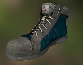 realtime Boot 3D model low poly sneaker