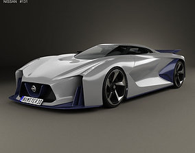 3D Nissan 2020 Vision Gran Turismo 2014