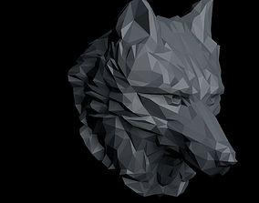 3D model of wolf head