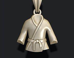 pendants 3D print model Kimono pendant