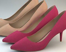 women shoes 2 3D model