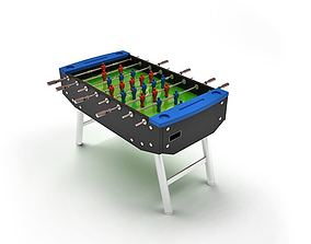 Game Table Football 3D model