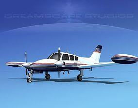 3D model Cessna 320 Skyknight V12