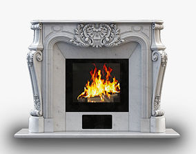 3D printable model Fireplace Gusar