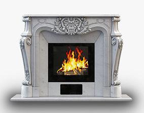 3D printable model Fireplace Gusar