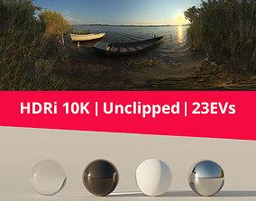 Hdri 87 Lake And Boats 3D model