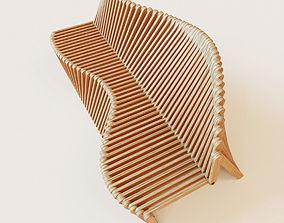 Parametric bench 2 3D model