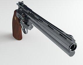 Revolver 3D model shooter